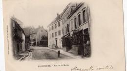 BEAUCOURT RUE DE LA MAIRIE (CARTE PRECURSEUR) - Beaucourt
