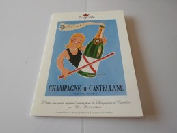 N CHAMPAGNE DE CASTELLANE EPERNAY VERNISSAGE GROUPE CREER  26 MARS  ? - Faire-part