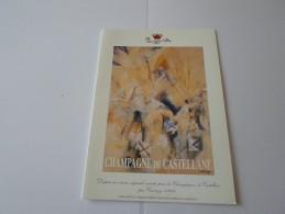 N CHAMPAGNE DE CASTELLANE EPERNAY VERNISSAGE CARRIZEY 03SEPTEMBRE 1998 - Faire-part