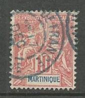 MARTINIQUE N° 45 OBL TB - Martinique (1886-1947)