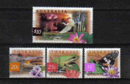 Australia 1997 Fauna Y.T. 1588/1591 **