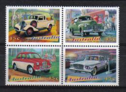 Australia 1997 Classic Cars 4-block Y.T. 1571/1574 **