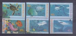 Australia 1995 The World Down Under Y.T. 1466/1471 **