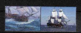 Australia 1995 Endeavour Pair  Y.T.  1415/1416 **