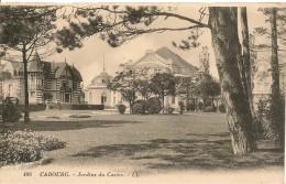 CPA-19??-14-CABOURG-JARDINS Du CASINO-TBE - Cabourg