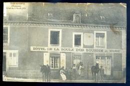 Cpa Du 53  Saint Jean Sur Erve   Hôtel De La Boule D' Or   NCL3 - Non Classés