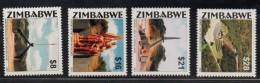 2001 ZimbabweHeroes Acre Revolution  Complete Set Of 4 MNH - Zimbabwe (1980-...)