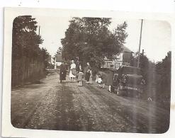 BARR  RUE DU VILLAGE   TACOT   Animée  18 JUILLET 1927  7,5x5,5cm - Luoghi