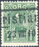 N° 66, 1k Vert, Type Modifié