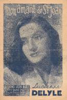 Partition -mon Amant De St Jean-- Paroles:leon Agel -- Musique Emile Carrara- Creation Lucienne Delyle - Non Classés