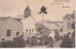LUXEMBOURG- MONDORF LES BAINS - NELS SERIE 3 N° 22 - LE MARCHE DU MERCREDI - Mondorf-les-Bains