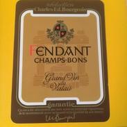 2184 -Suisse Valais Fendant Champs-Bons - Etiquettes