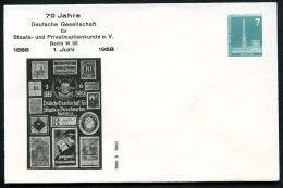 BERLIN PU15 D2/001 Privat-Umschlag PRIVATMARKEN ** 1958  NGK 5,00 € - Berlin (West)