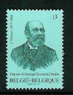 Belgique COB 2248 ** (MNH) - Valeur Faciale - Belgium