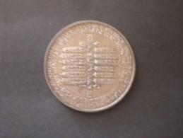 AUSTRIA SILVER COIN MEDAL Calendario LANZ 1966 Regent Jupiter Fulmine Adler 21,7 G; 40 Mm - Autriche