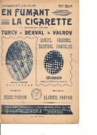Partition -en Fumant La Cigarette-- Paroles: Henri Poupon -- Musique Blanche Poupon- - Non Classés