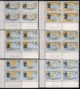 Ph-France-Bloc De 4 Timbres-1988- Grands Navigateurs Français - Série Complète - Frankreich
