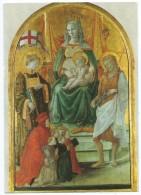 PRATO (Italie) - Gallerie Du Palais Pretorio - Filippo Lippi - Madonna Del Ceppo (XVe) - Non écrite - Scan Recto-verso - Prato