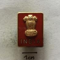 Badge (Pin) ZN003429 - India (Bhārat Gaṇarājya) - Pin's