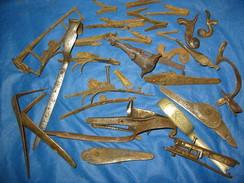 Lot Pieces Detachee Ancien Fusil De Chasse Pour Restaurations