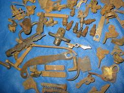Lot Petit Pieces Detachee Ancien Fusil De Chasse Pour Restaurations