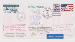 TAAF - Dumont D'urville - Deep Freeze - Iagp - Raid - Paul Emile Victor - Mac Murdo - Pointe Geologie - Covers & Documents
