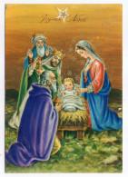 JOYEUX NOEL--Nativité  ,cpsm 15 X 10  N° 5192  éd  SAEMEC--carte Italienne - Natale