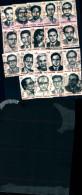 84059) Bangladesh-omaggio Ai Martiri Intellettuali-19 Val. Usati - Bangladesch