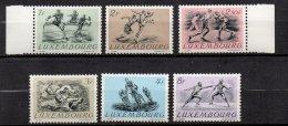 LUXEMBOURG - Sports 1952 - Série Complète Neuve Luxe