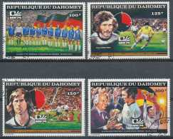 DAHOMEY - PA225F/J, Coupe Du Monde De Football à Munich - Coppa Del Mondo