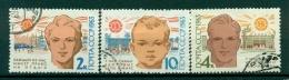 Russie - USSR 1963 - Michel 2744/46 - Journée Mondiale De La Santé