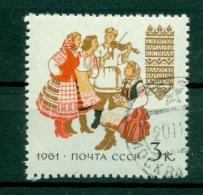 Russie - USSR 1961 - Michel N. 2478/79 A - Costumes (III)