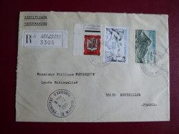 Lettre Recommandée  De Massana Pour La FRANCE  04/12/1981
