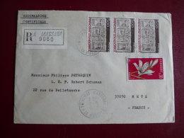 Lettre Recommandée  De Massana Pour La FRANCE  10/10/83