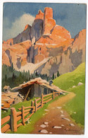 Italie--près Trento--SASS MAOR (Dolomites)--illustrateur S.BONELLI--n°419  éd Stehli - Other Cities