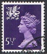 Wales SG W20 1974 5½p (2B) Good/fine Used [16/15350/25D] - Regional Issues
