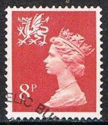 Wales SG W25 1974 8p (2B) Good/fine Used [16/15349/25D] - Regional Issues