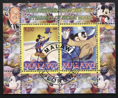 DISNEY,MOVIE,STORY,CLASSIC On SOUVENIR STAMP SHEET,CTO USED