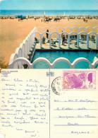 Hotel El Bousten, Hammamet, Tunisia Postcard Posted 1972 Stamp - Tunisia
