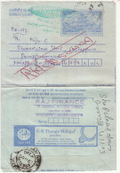 'Return To Sender'  Inland Letter Advertisemet By G R Thanga Maligai, Jewellery, Mineral,