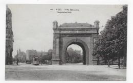 METZ - N° 118 - PORTE SERPENOISE AVEC TRAMWAY - CPA NON VOYAGEE - Metz