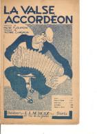 Partition- La Valse Accordeon - Paroles: René Flouron -- Musique: P. Chagnon - Non Classés