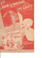 Partition- Sans Y Penser - Paroles: JM Huard Et G. Groener -- Musique: Norbert Glanzberg - Non Classés