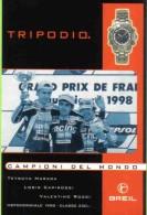 MOTOMONDIALE 1998 CLASSE 250 T. HARADA, L. CAPIROSSI, V. ROSSI - Personalità Sportive