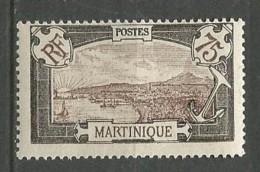 MARTINIQUE N° 74   NEUF**  SANS  CHARNIERE / MNH - Martinique (1886-1947)