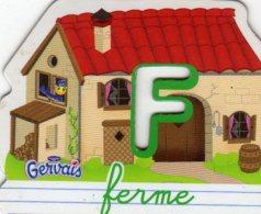 Magnets Magnet Alphabet Gervais F Ferme - Letters & Digits