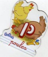 Magnets Magnet Alphabet Gervais P Poules - Lettres & Chiffres
