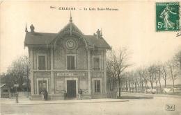 ORLEANS LA GARE SAINT MARCEAU - Orleans
