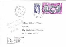 FRANCE PA 47 Sur Lettre Recommandée R2 + AR Dernier Jour Du Tarif Du 01/10/79 - Postmark Collection (Covers)
