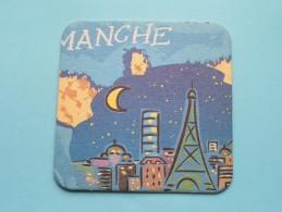 MANCHE ( Bienvenue à L'EURO ) 2001 ( Details - Zie Foto´s ) ! - Beer Mats